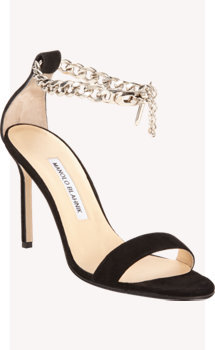 Manolo Blahnik Chaos Chain Sandals