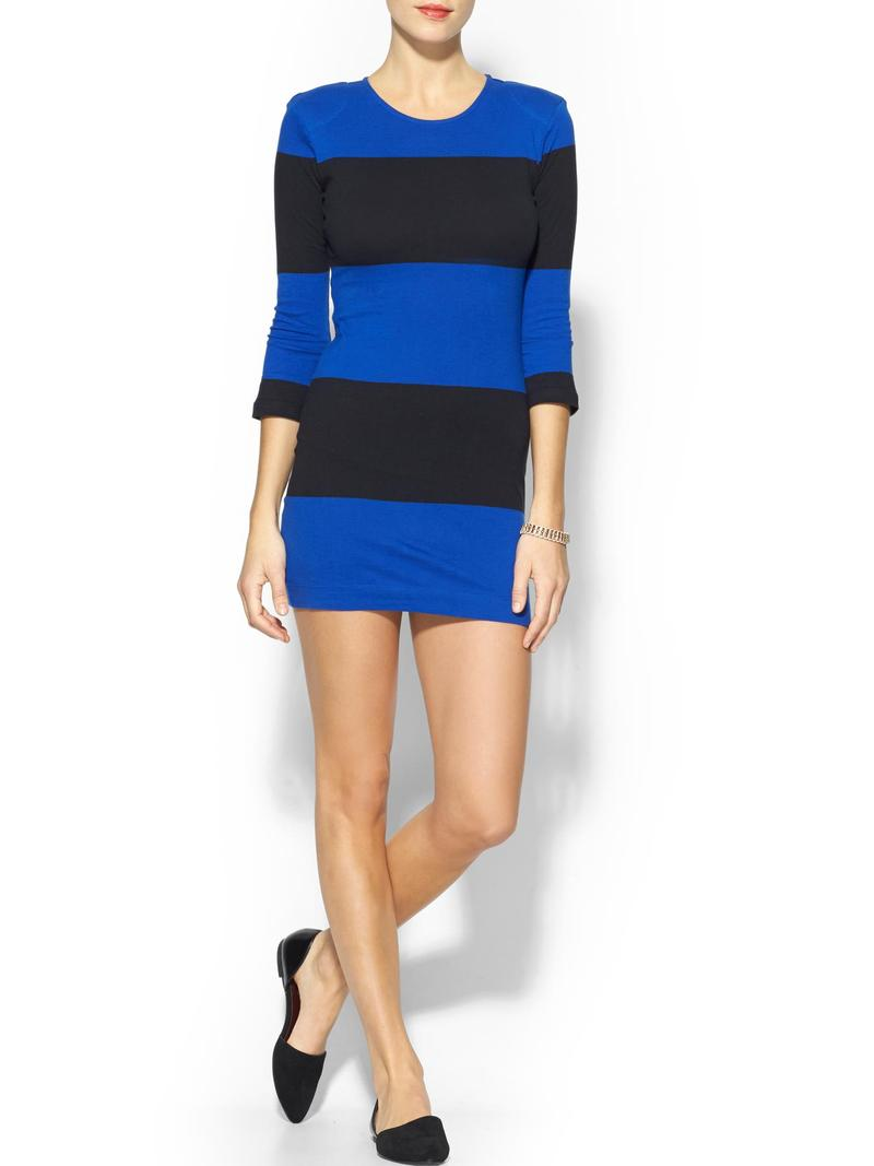 French Connection Total Stripe Mini Dress