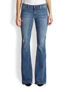 Genetic Leaf Flared Jeans