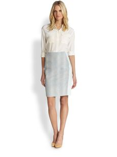 Elie Tahari Kelsa Pencil Skirt