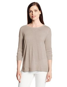 Calvin Klein Women's Pullover Sweater with Linen