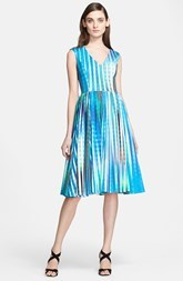 Tracy Reese 'Dolce Vida' Print Stretch Twill Dress