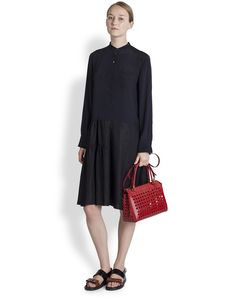 Marni Viscose Twill Shirtdress