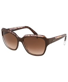 Emilio Pucci Women's Butterfly Brown Sunglasses