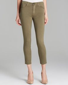 GENETIC Jeans - Loren Slim High Rise Crop in Clash