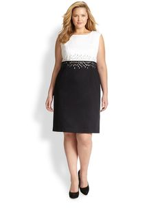 Lafayette 148 New York, Sizes 14-24 Harper Dress