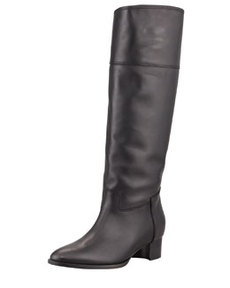 Equestra Knee-High Boot, Black   Equestra Knee-High Boot, Black