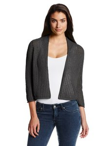 Jones New York Women's Short Open Front Cardigan