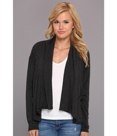 kensie Drapey French Terry Jacket