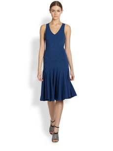 Derek Lam Seamed Bodice Dress