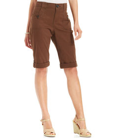Charter Club Cuffed Bermuda Shorts