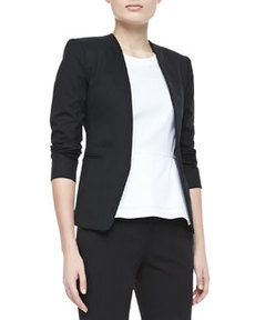 Tadean TS Cotton Open-Front Jacket   Tadean TS Cotton Open-Front Jacket