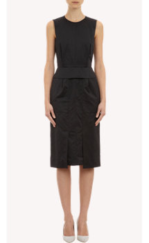 Proenza Schouler Sleeveless Peplum Dress