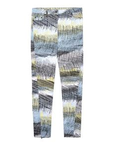 KENZO Logo detail Metal Applications Denim Multicolor Pattern Colored wash Mid Rise Zip Button closing Five pockets Zips at hem Fitting: Skinny Denim Woven not made of fur