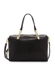 Foley + Corinna Slider Satchel Bag, Black
