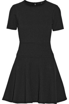 Tibi Vika crochet-knit cotton mini dress