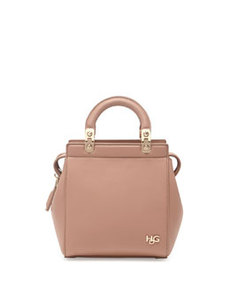 HDG Mini Top-Handle Crossbody Bag, Light Pink   HDG Mini Top-Handle Crossbody Bag, Light Pink