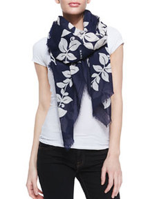 Bread Fruit Printed Scarf   Bread Fruit Printed Scarf