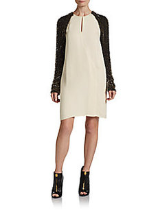 3.1 Phillip Lim Static Beaded Silk Dress
