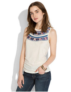 MADERA EMBROIDERED TANK