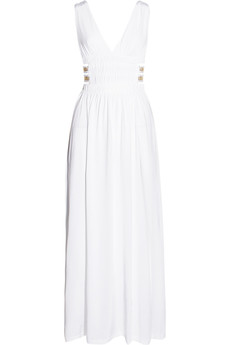 La Perla Stretch-jersey maxi dress