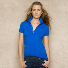 Long-Placket Polo Shirt
