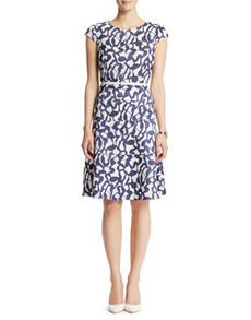 Reflection Jacquard Dress