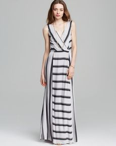 Ella Moss Maxi Dress - Anabel Stripe