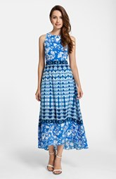 Cynthia Steffe 'Sydney' Sleeveless Print Maxi Dress
