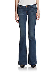 J Brand Seamed Bell Bottom Jeans