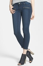Paige Denim 'Jane' Zip Detail Crop Skinny Jeans (Nottingham)