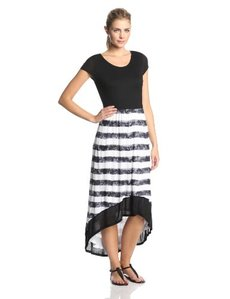 Kensie Women's Textured Stripes Dress