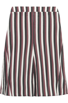 Marni Striped organza skirt