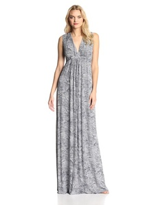 Rachel Pally Women's Printed Long Sleeveless Caftan Dress