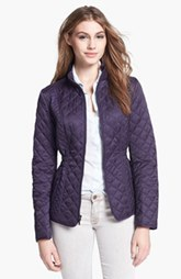 Laundry by Shelli Segal Quilted Jacket (Petite) (Nordstrom Exclusive)
