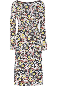 M Missoni Printed stretch-jersey dress