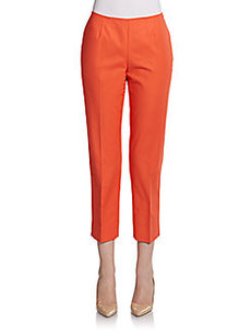 Lafayette 148 New York Metropolitan Straight-Leg Pants