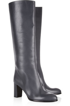 Jil Sander Leather knee boots