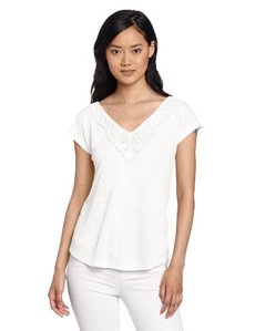 Lucky Brand Women's Aden Tie Back Top