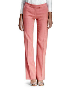 Textured Straight-Leg Pants   Textured Straight-Leg Pants