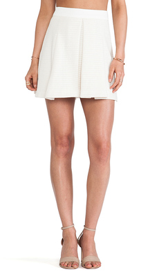 Trina Turk Julienne Skirt in Ivory