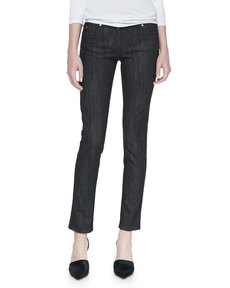 Michael Kors Stretch Twill Jeans, Black
