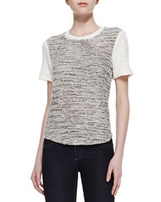 Two-Tone Tweed Top   Two-Tone Tweed Top