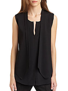 Akris Punto Stretch Knit Gilet