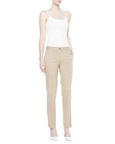 Michael Kors Samantha Stretch Gabardine Pants