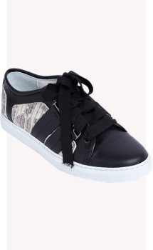 Lanvin Tejus-Effect Low-Top