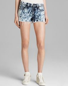 rag & bone/JEAN Shorts - Cutoff in Acid Wash