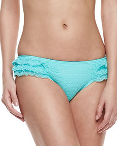 Juicy Couture Prima Donna Ruffled Swim Bottom