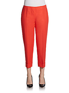 Lafayette 148 New York Bleecker Cuffed Pants