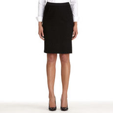 The Lucy Embroidered Pencil Skirt